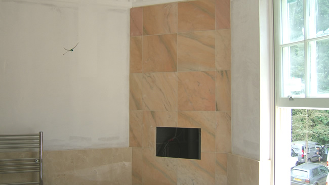You are browsing images from the article: Residential Plastering  Work